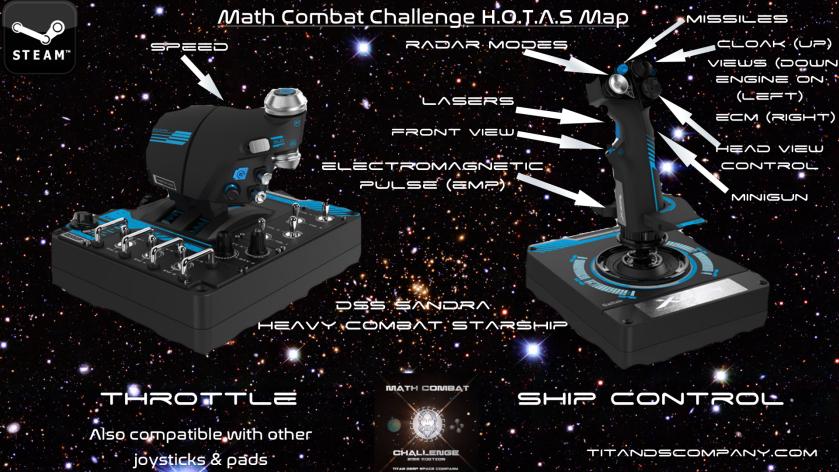 HOTAS X56 Map Configuration Math Combat Challenge